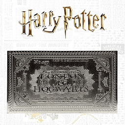 Harry Potter Replica Hogwarts Train Ticket Edição Limitada