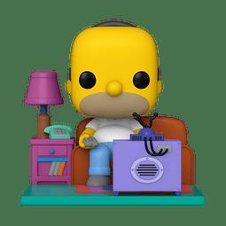 POP! Deluxe: The Simpsons - Homer watching TV