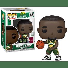 POP! Basketball: Seattle Supersonics - Shawn Kemp Edição Limitada