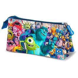 Estojo Triplo Disney Pixar Monsters, Inc. University