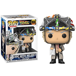 POP! Movies: Back to the Future - Doc with Helmet