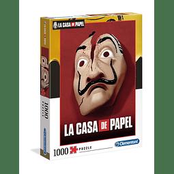 Puzzle 1000 Peças La Casa de Papel Mask