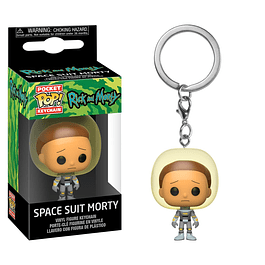 Porta-chaves Pocket POP! Rick and Morty: Space Suit Morty