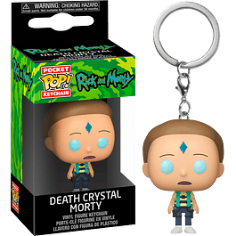 Porta-chaves Pocket POP! Rick and Morty: Death Crystal Morty