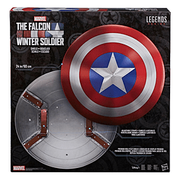 The Falcon and The Winter Soldier Marvel Legends Premium Role-Play Shield