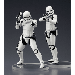 Star Wars ArtFX+ Statue 2-Pack First Order Stormtroopers