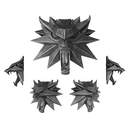 The Witcher School of the Wolf Wall Sculpture