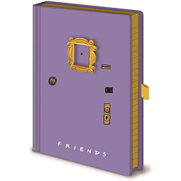 Notebook A5 Premium Friends Frame