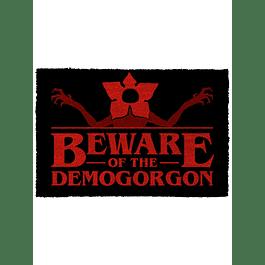 Tapete Stranger Things Beware of the Demogorgon
