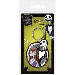 Porta-chaves The Nightmare Before Christmas Jack and Sally