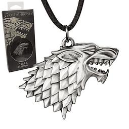 Colar Game of Thrones Stark Sigil Costume
