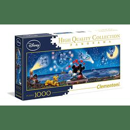 Puzzle 1000 Peças Disney Mickey & Minnie Panorama