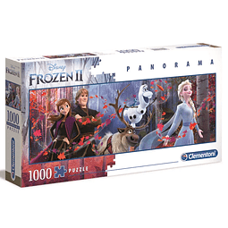 Puzzle 1000 Peças Disney Frozen II Panorama