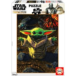 Puzzle 1000 Peças Star Wars The Mandalorian The Child