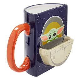 Caneca Star Wars The Mandalorian The Child Drink Time