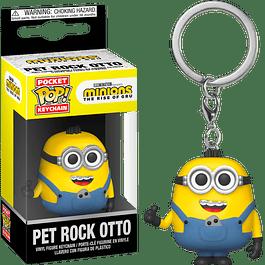 Porta-chaves Pocket POP! Minions The Rise of Gru: Pet Rock Otto
