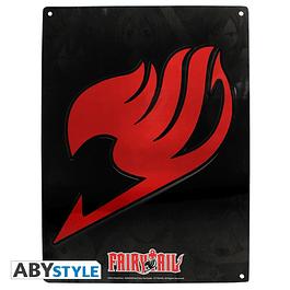 Placa de Metal Fairy Tail Emblem