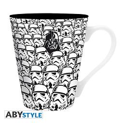 Caneca Star Wars Troopers & Vader