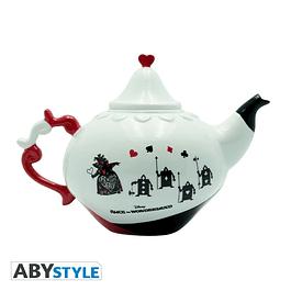 Bule de Chá Disney Alice in Wonderland Queen of Hearts