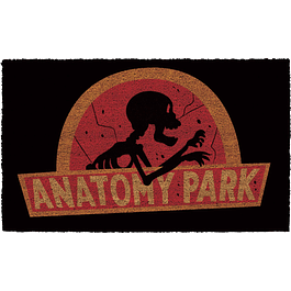 Tapete Rick and Morty Anatomy Park