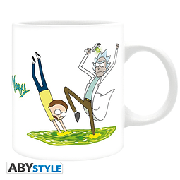 Caneca Rick and Morty Portal