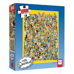 Puzzle 1000 Peças The Simpsons Cast of Thousands