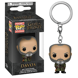 Porta-chaves Pocket POP! Game of Thrones: Davos