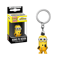 Porta-chaves Pocket POP! Minions The Rise of Gru: Kung Fu Kevin
