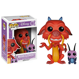 POP! Disney: Mushu & Cricket