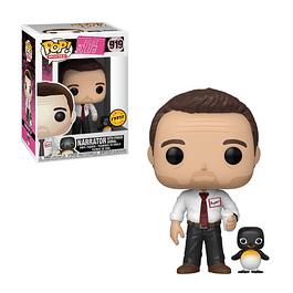 POP! Movies: Fight Club - Narrator with Power Animal Chase Edition