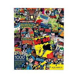 Puzzle 1000 Peças DC Comics Batman Collage