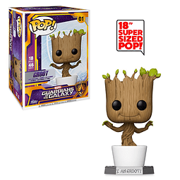 POP! Marvel Guardians of the Galaxy: Groot (Super Sized)