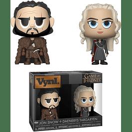VYNL: Game of Thrones - Jon Snow & Daenerys Targaryen