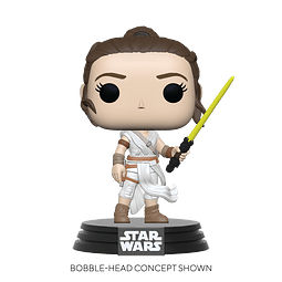 POP! Star Wars: The Rise of Skywalker - Rey with Yellow Saber