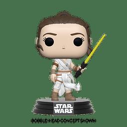 POP! Star Wars: The Rise of Skywalker - Rey (Yellow Lightsaber)