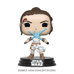 POP! Star Wars: The Rise of Skywalker - Rey with two Light Sabers