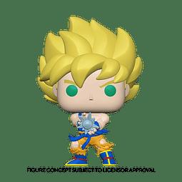 POP! Animation: Dragon Ball Z - SS Goku with Kamehameha Wave