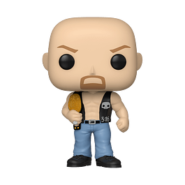 POP! WWE: SC Steve Austin with Belt