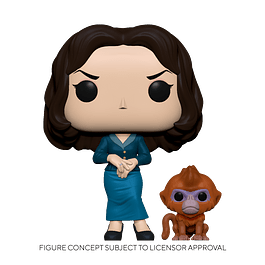 POP! TV: His Dark Materials - Mrs. Coulter with the Golden Monkey