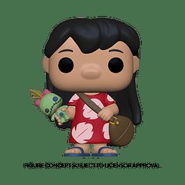 POP! Disney Lilo & Stitch: Lilo with Scrump