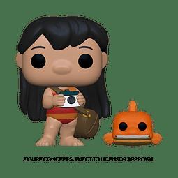 POP! Disney Lilo & Stitch: Lilo with Pudge