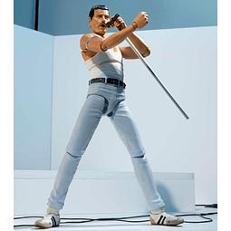 Freddie Mercury 1985 Live Aid Ver. S.H. Figuarts Action Figure