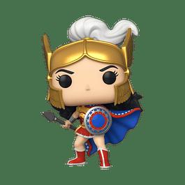POP! Heroes: Wonder Woman 80th Anniversary - Wonder Woman Challenge Of The Gods