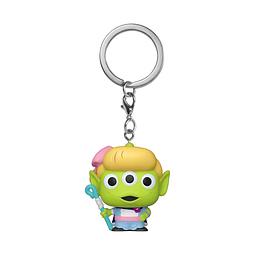 Porta-chaves Pocket POP! Disney Pixar Alien Remix: Bo Peep
