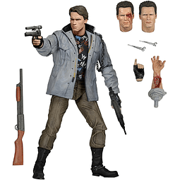 The Terminator Action Figure T-800 Tech Noir Ultimate Deluxe