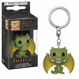 Porta-chaves Pocket POP! Game of Thrones: Rhaegal