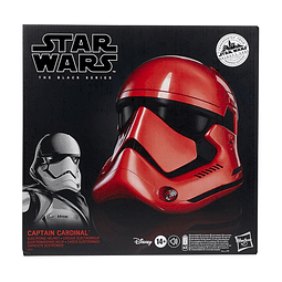 Star Wars Galaxy's Edge The Black Series Electronic Helmet Captain Cardinal