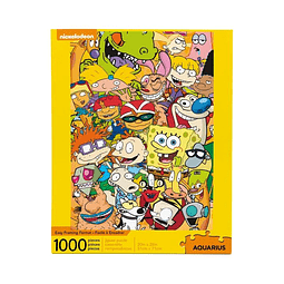 Puzzle 1000 Peças Nickelodeon Cast
