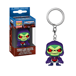 Porta-chaves Pocket POP! Masters of the Universe: Terror Claws Skeletor