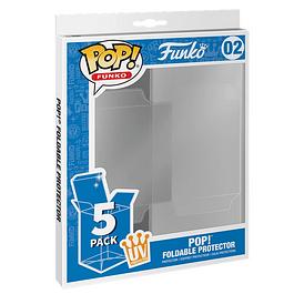 Pack 5 Caixas Protectoras Funko POP! Standard Size